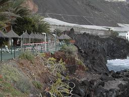 Stranderosion auf La Palma