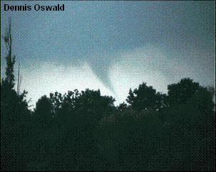 Tornado im Bereich Hüls