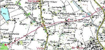 Zugbahnkarte