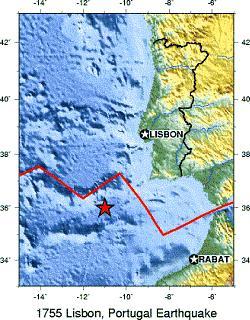 Erdbebenkarte USGS