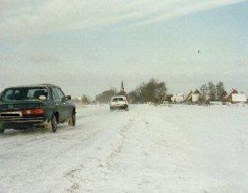 Schneeglätte