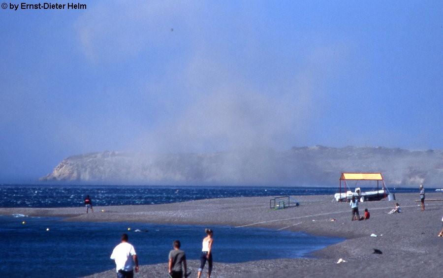 Bilder Vom Sturm Auf Kreta Im September 2003