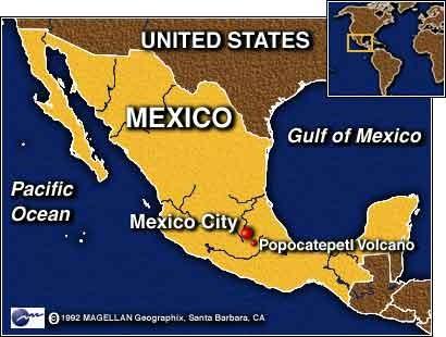Karte Mexico