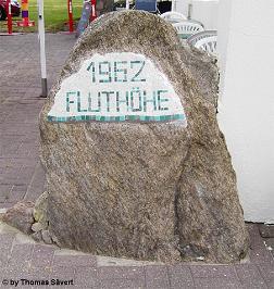 Gedenkstein in Cuxhaven-Duhnen