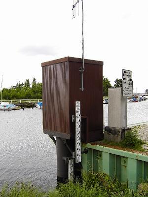 Pegel in Greifswald-Wieck