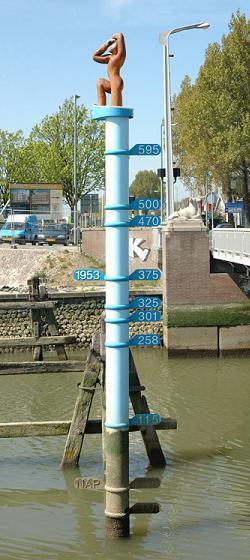 Flutmarken in den Niederlanden