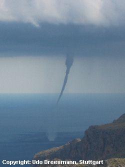 Tornado vor Mallorca