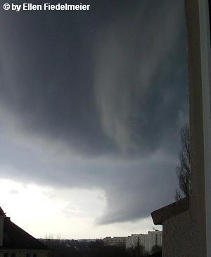Tornadoentstehung von Ellen Fiedelmeier