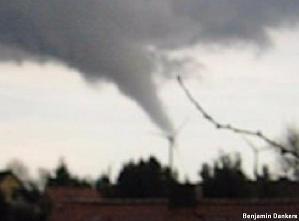 Tornadofoto von Benjamin Dankers