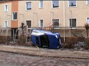 Schäden in Wittenberg