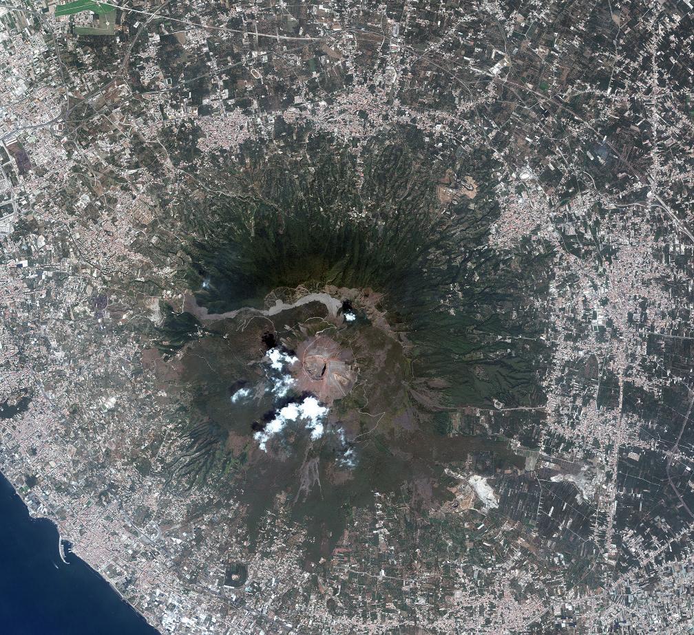 Vesuv Satellitenbild