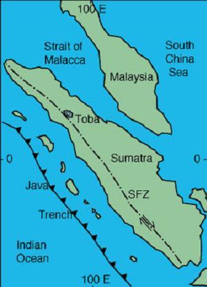 Vulkane Der Erde Karte.Supervulkan Toba