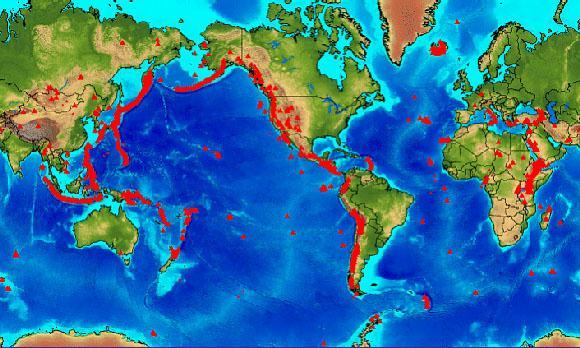 Vulkane Der Erde Karte.Vulkane Und Vulkanausbrüche Thomas Sävert Naturgewalten